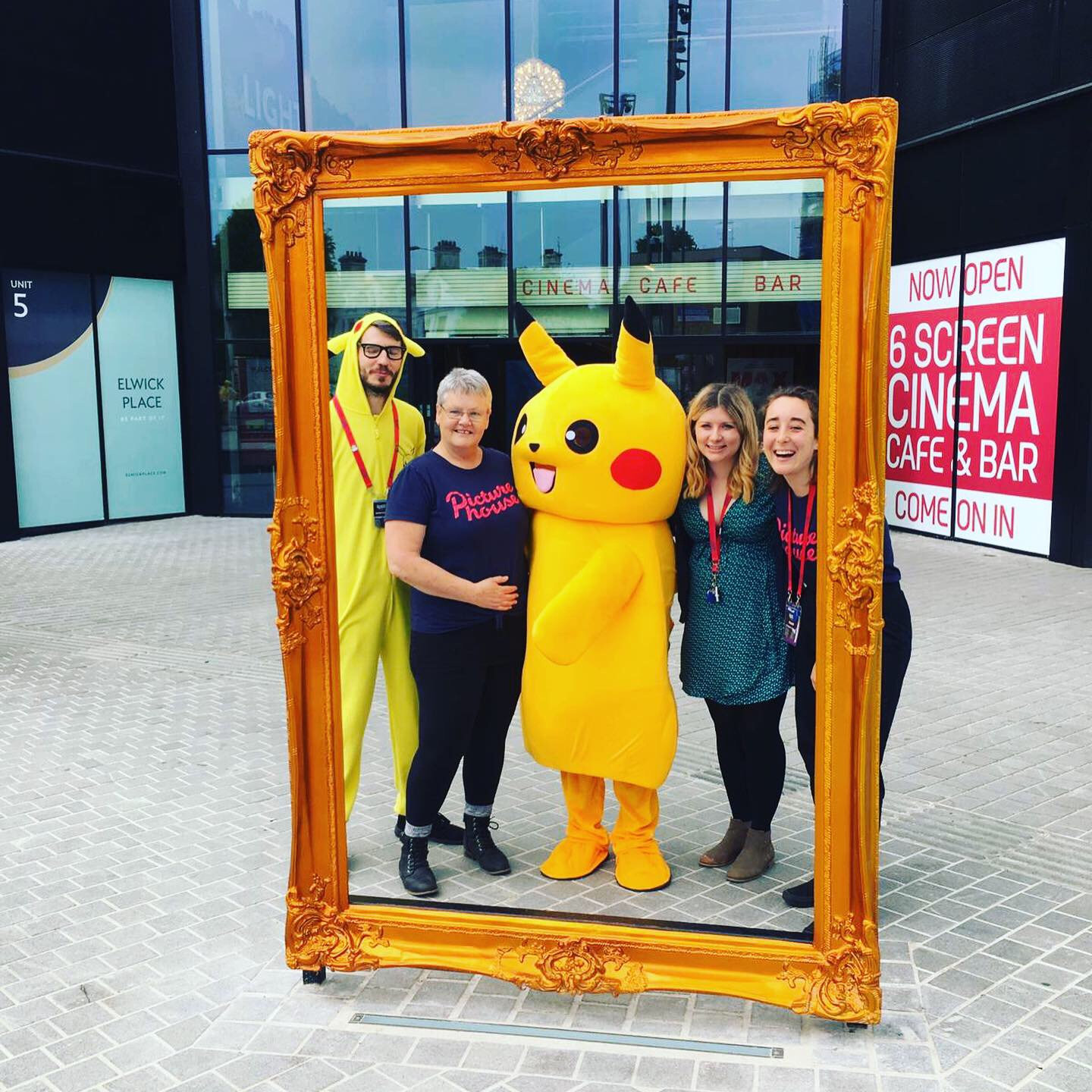 Past Event Gallery - Meet Pikachu at Elwick Place!