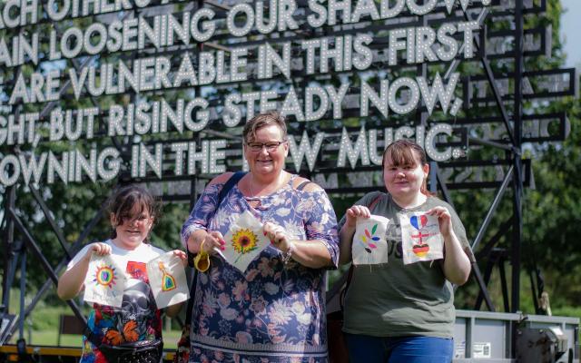 PAST EVENT -Fabric of Ashford Flag Workshops